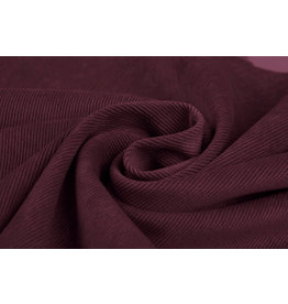 Rib Fabric Corduroy Light Bordeaux