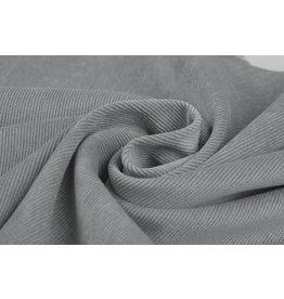 Cordstoff 16 W Grau
