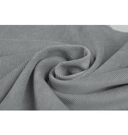 Rib Fabric Corduroy Grey