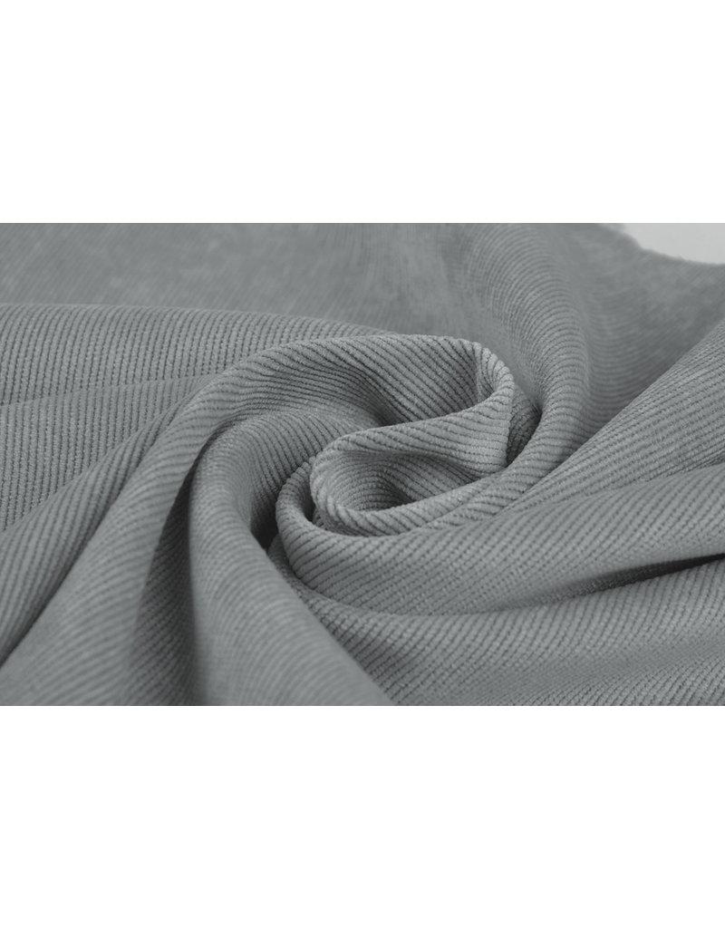 Rib Fabric 16 W Corduroy Grey