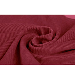 Rib Fabric Corduroy Red