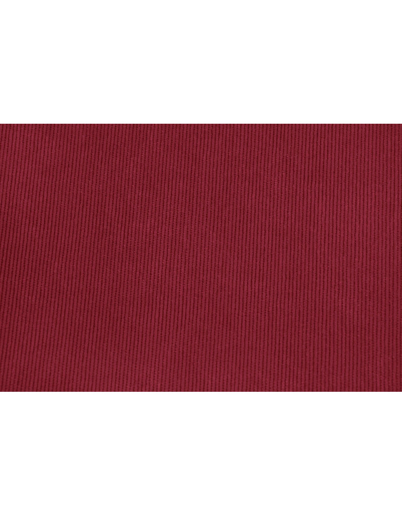 Rib Fabric 16 W Corduroy Red