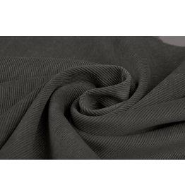 Rib Fabric 16 W Corduroy Dark Grey