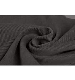 Rib Fabric Corduroy Dark Grey