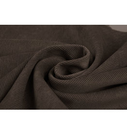 Rib Fabric Corduroy Dark Brown