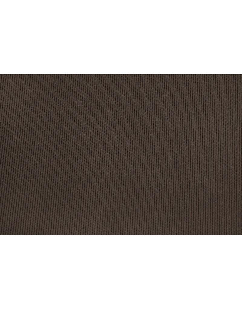 Rib Fabric 16 W Corduroy Dark Brown