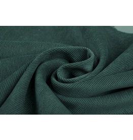 Cordstoff Seegrün