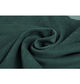 Rib Fabric Corduroy Seagreen
