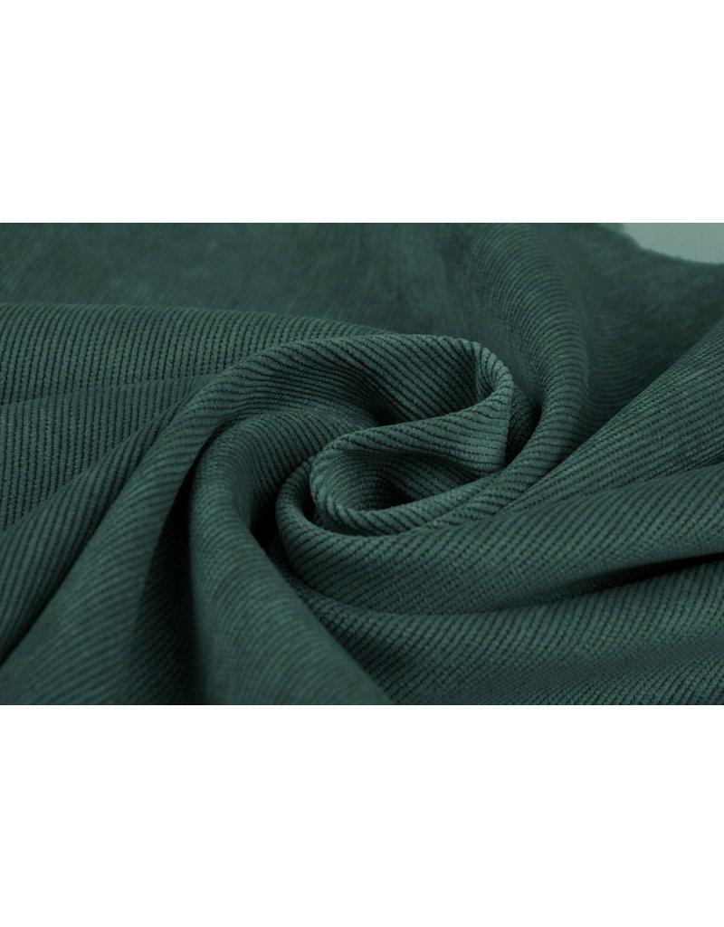 Rib Fabric 16 W Corduroy Seagreen