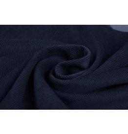 Rib Fabric 16 W Corduroy Navy