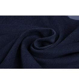 Rib Fabric Corduroy Navy
