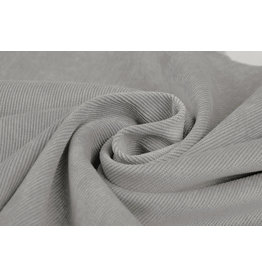Rib Fabric Corduroy Light Grey