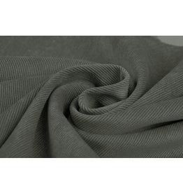 Cordstoff 16 W Dunkel-Altgrün