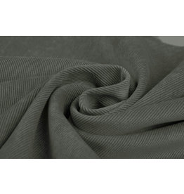 Rib Fabric Corduroy Dark Old Green