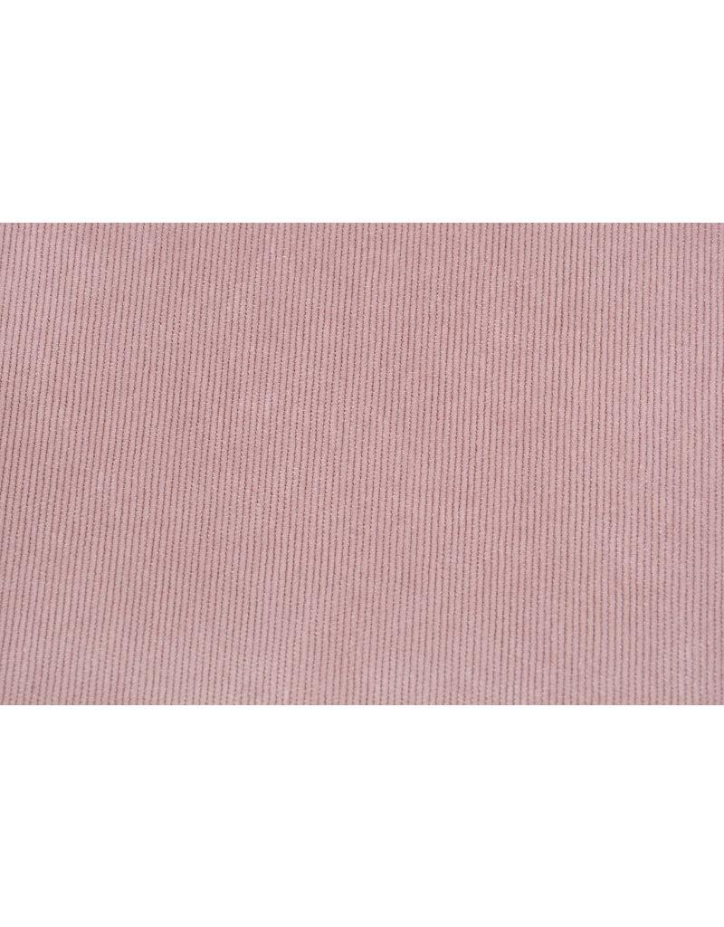 Rib Fabric 16 W Corduroy Powder Pink