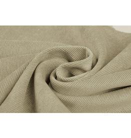 Rib fabric 16 W Corduroy Kaki Beige