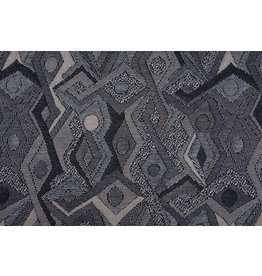 Jacquard Knitted Picassa Grey