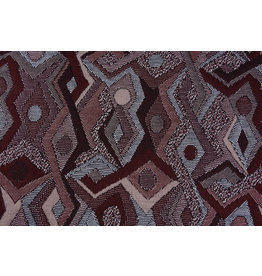 Jacquard Knitted Picassa Bordeaux