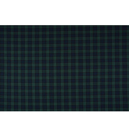 Scottish checks stretch Small Navy Black Green