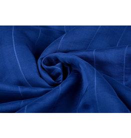 Zijde stof Blauw