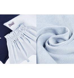 Rib Fabric Corduroy Baby Blue