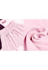 Rib Fabric 16 W Corduroy Light Pink