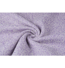 Knitted Woolen Fabric Lanoso Lilac