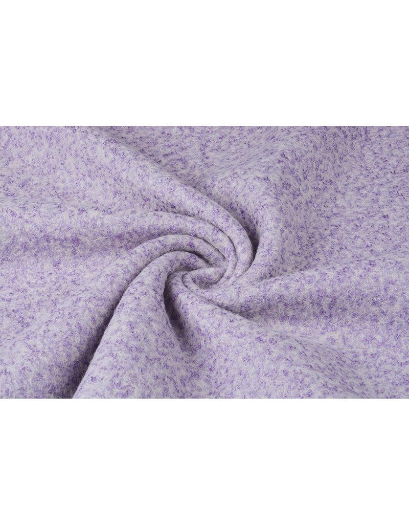 Knitted Woolen fabric Lanoso Lila