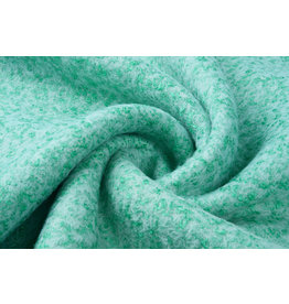 Knitted Woolen fabric Lanoso Mint White