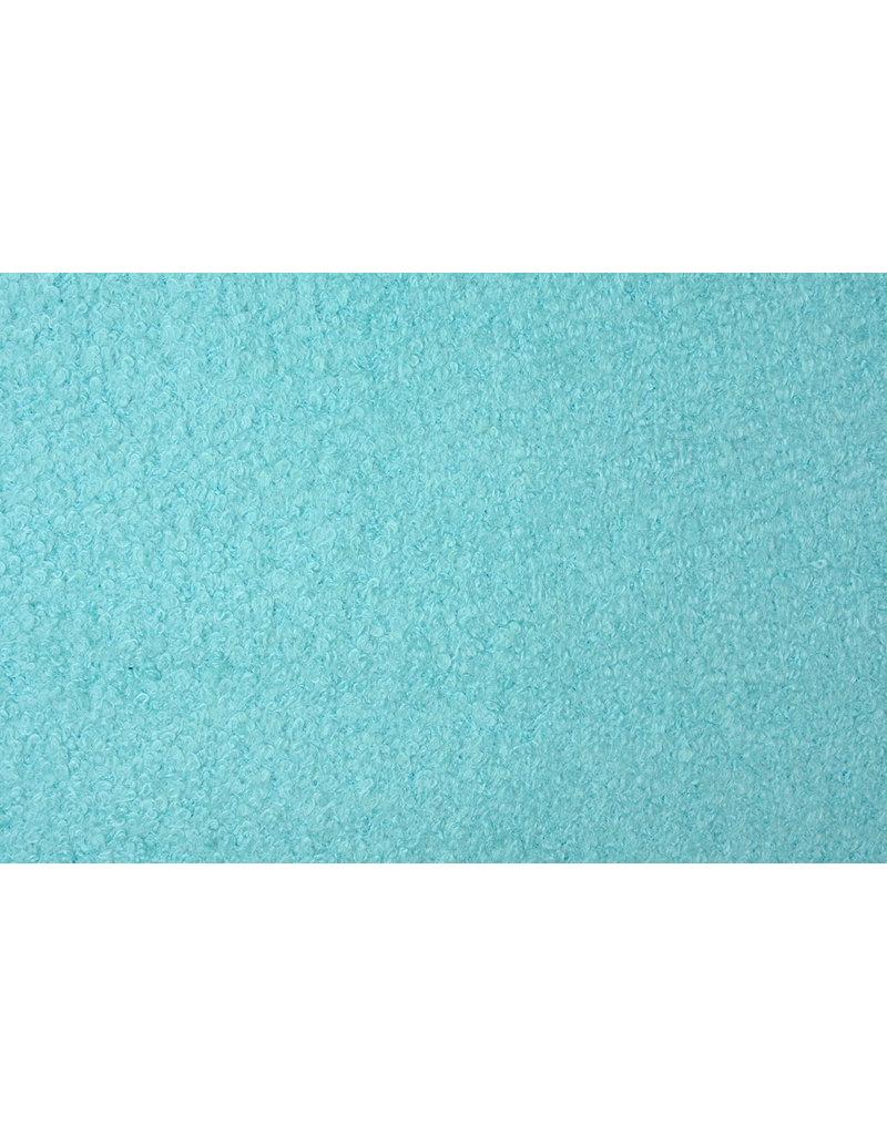 Gebreide Wollen stof Lana Aqua Mint