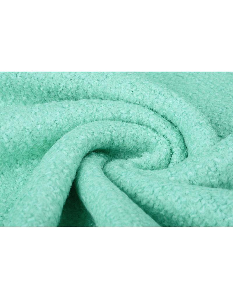 Knitted Woolen fabric Lana Mint