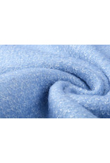 Gebreide Wollen stof Lanoso Licht Lavendel