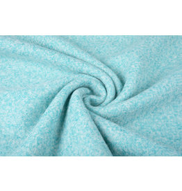 Knitted Woolen fabric Lanoso Aqua