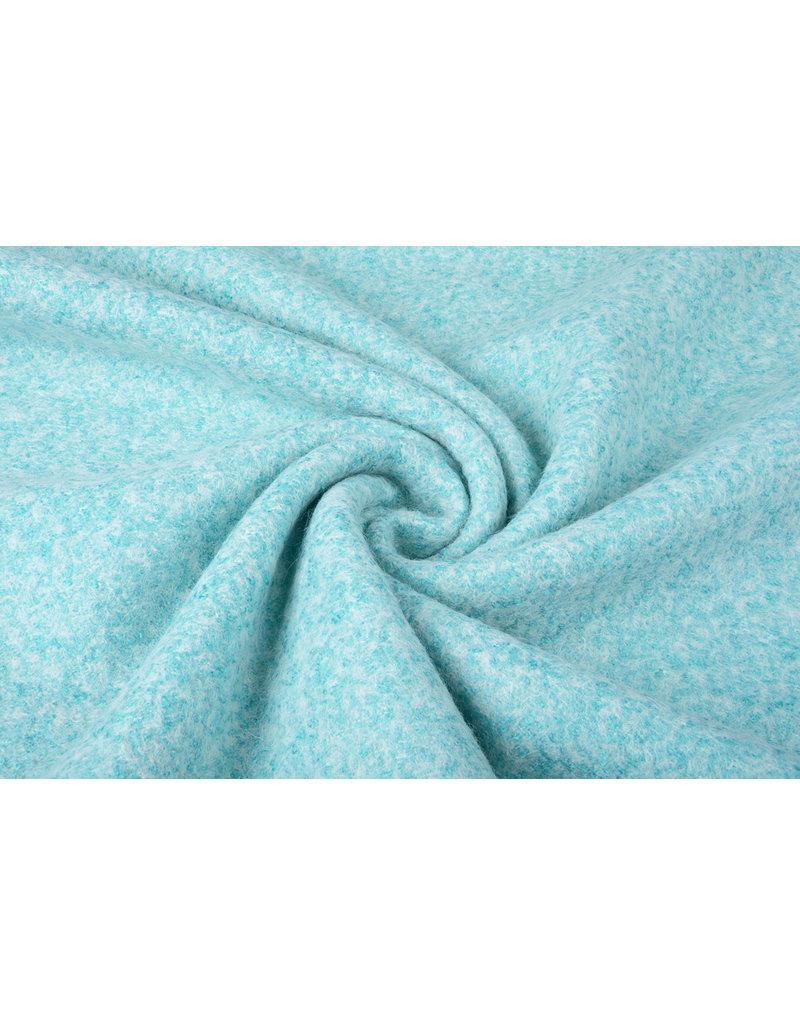 Knitted Woolen fabric Lanoso Aqua