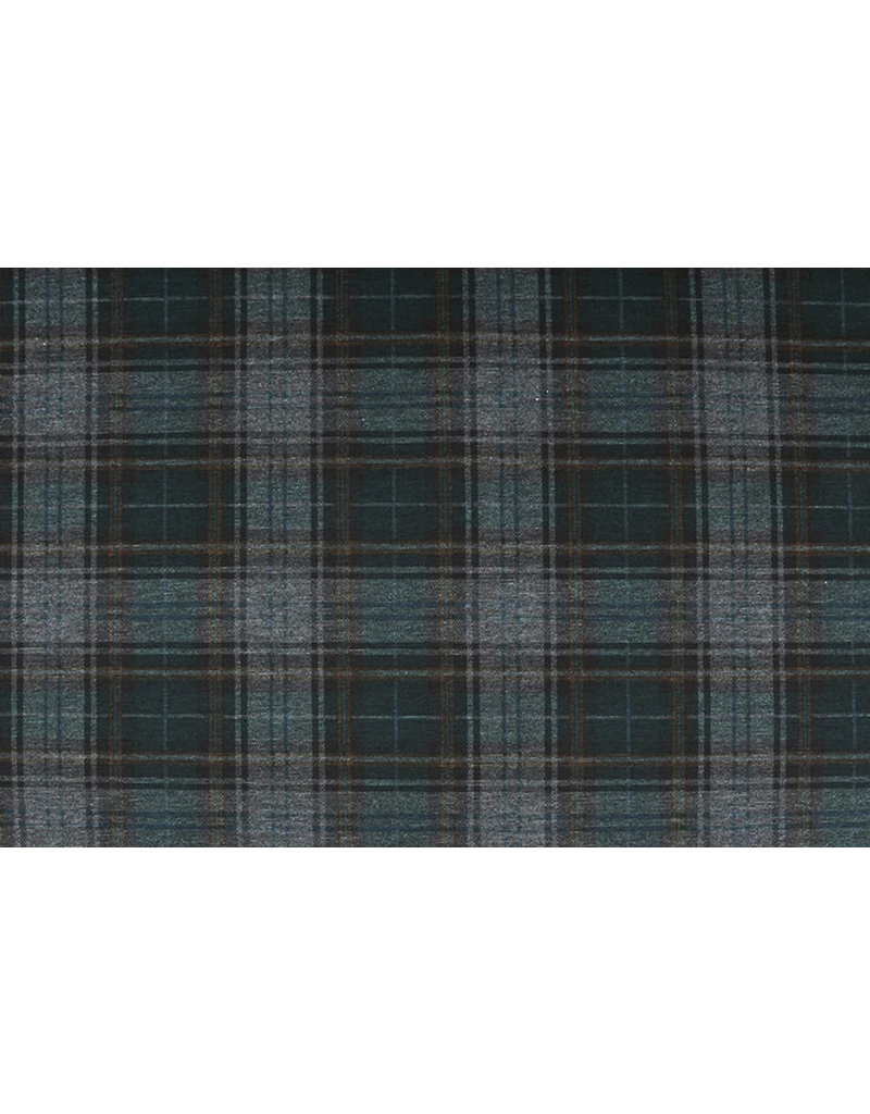 Punta Di Roma Scottish Tartan Dark Green