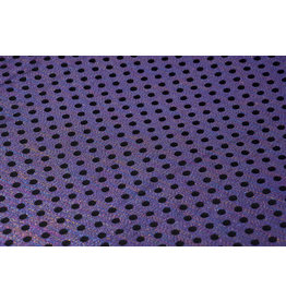 Brocade Dot Dark Purple Black