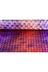 Brocade Circle Multicollor Purple Pink