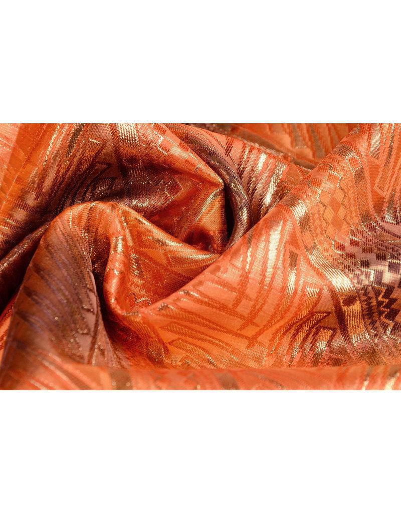 Brocade Strips Orange