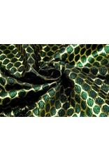 Brokaat Grote Dot Groen Goud
