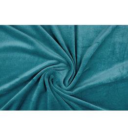 Nicky Velours Petrol Blue