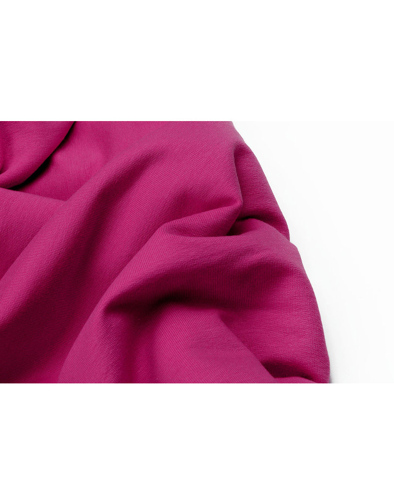 Oeko-Tex®  French Terry Fuchsia