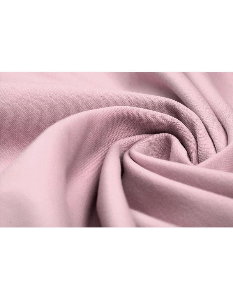 Oeko-Tex®  French Terry Poeder roze