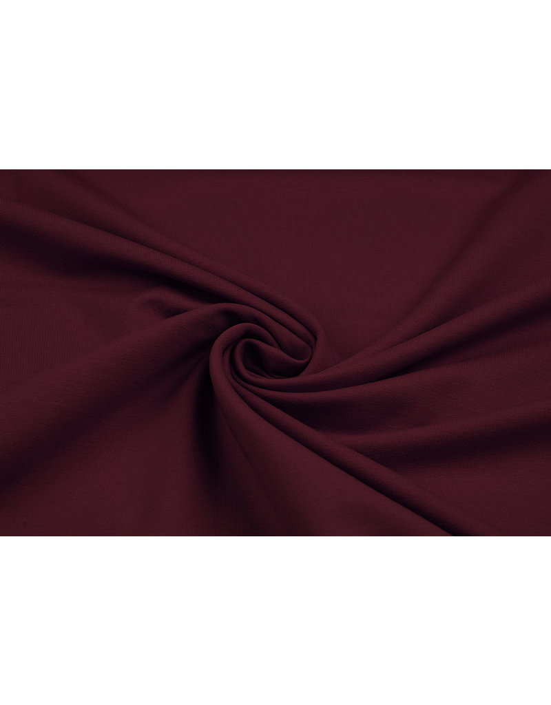 Oeko-Tex®  French Terry Bordeaux