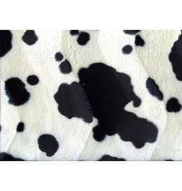 Velboa cowprint Black