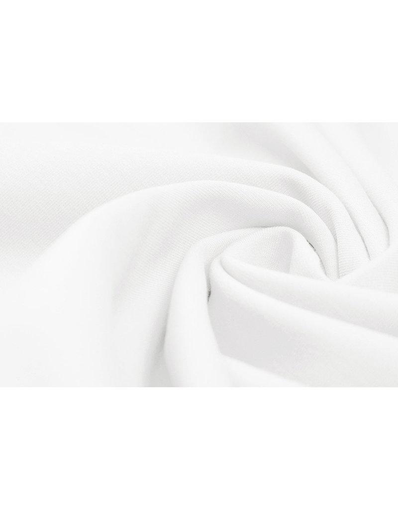 Oeko-Tex®  French Terry Weiß