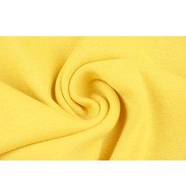 Bündchenstoff Gelb