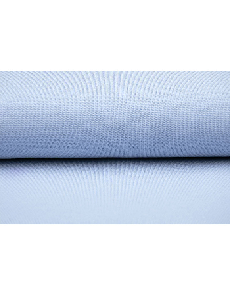 Bündchenstoff Hellblau