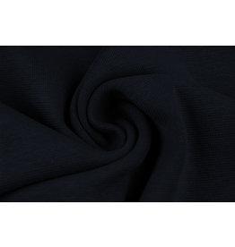 Bündchenstoff Marineblau