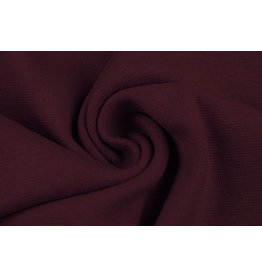 Cuff fabric Dark red
