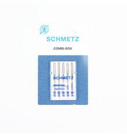 Schmetz Combi-box universeel, jeans, stretch assortiment